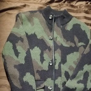 Other - Sweater Jacket (Camo)